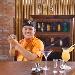 Bar restaurant Ubud resort